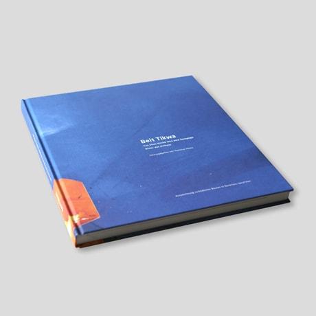 Buchgestaltung – Synagogenbuch Beit Tikwa