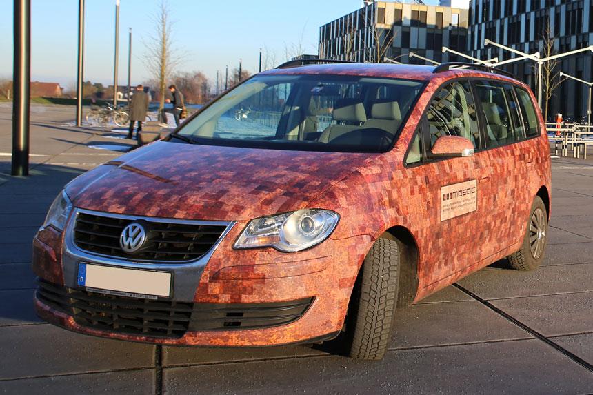 Werbeagentur mosaic - Rostauto-Autoverklebung