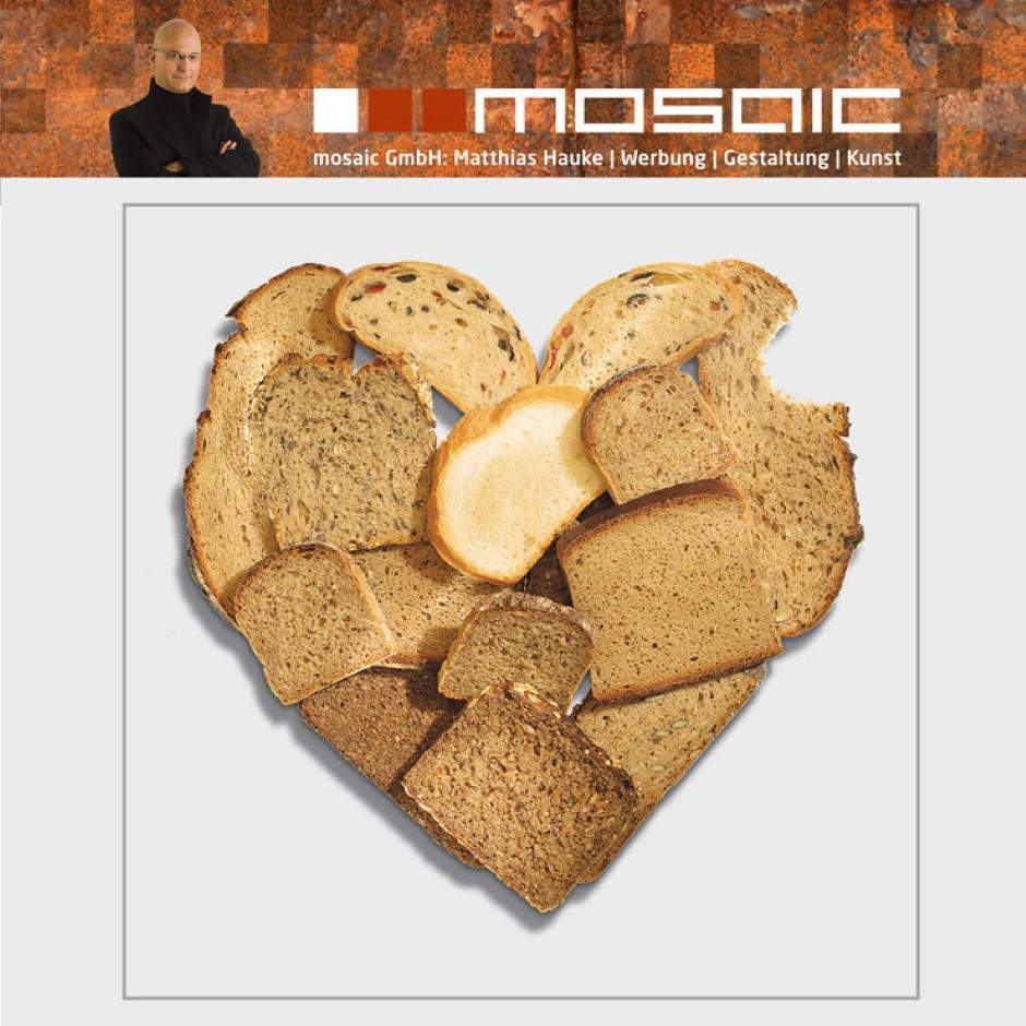 Werbeagentur mosaic - Bäckerei - Brotherz