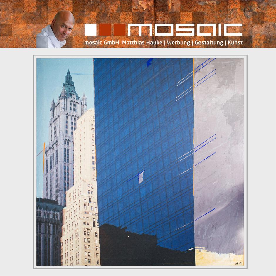 Werbeagentur mosaic - Kunstwerk: New York