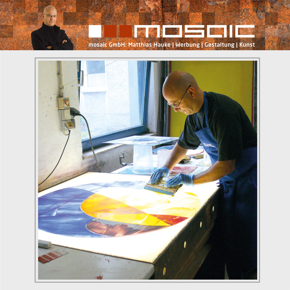 Werbeagentur mosaic - Gestaltung der Rundfenster für die Synagoge Beit Tikwa