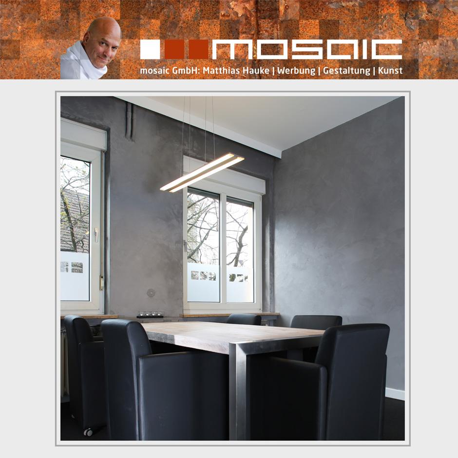 Werbeagentur mosaic - Besprechungsraum