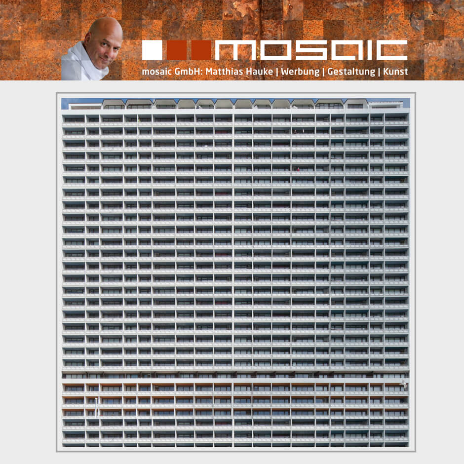 Werbeagentur mosaic - Kunst - Hotelfassade