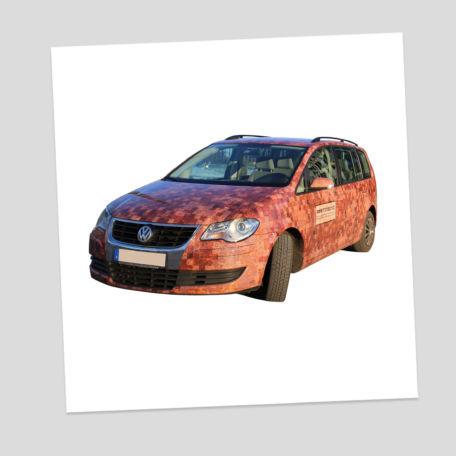 Fahrzeugbeklebung - Werbeagentur mosaic