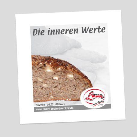 Werbeanzeigen - Bäckerei - Die Inneren Werte